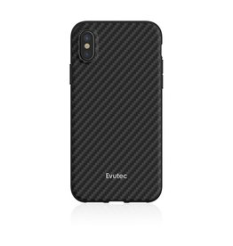 Evutec Evutec Aer Karbon Series With Afix Case for iPhone Xs Max - Black