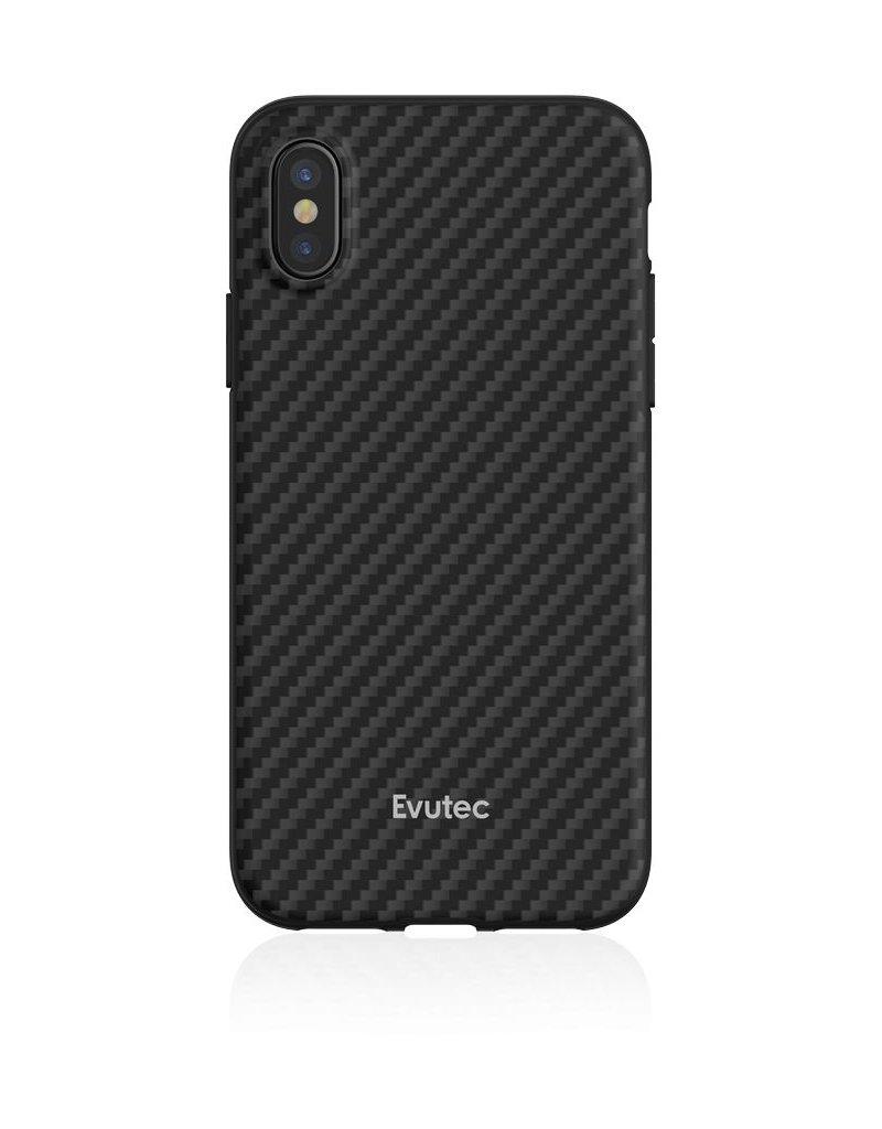 Evutec Evutec Aer Karbon Series With Afix Case for iPhone Xs Max - Black