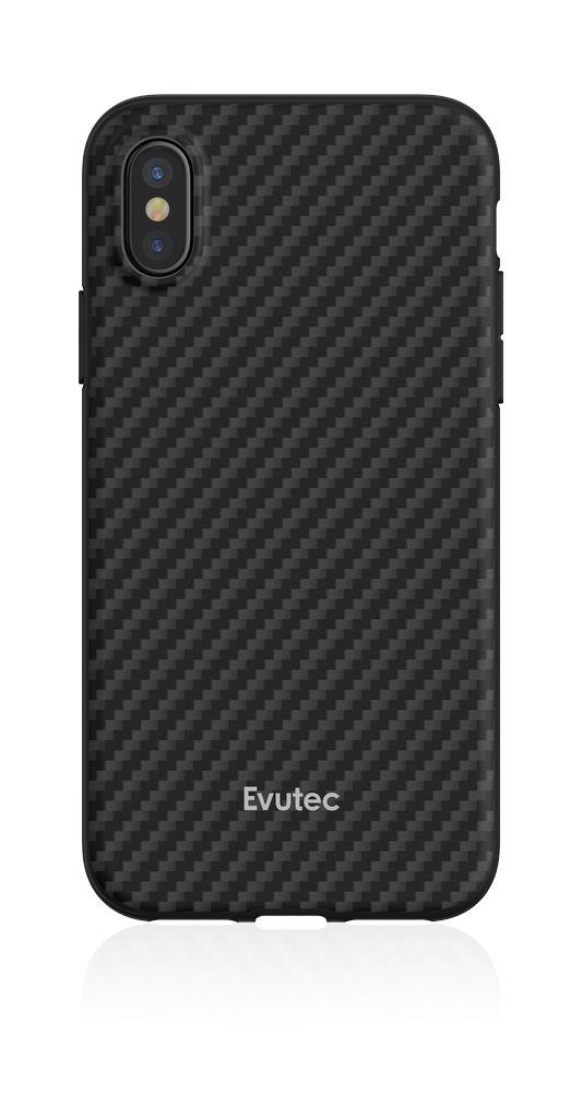 527fa4b9790 Evutec Evutec Aer Karbon Series With Afix Case for iPhone Xs Max - Black -  Gadget Zone