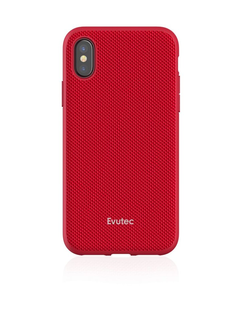check out c669d a8e7f Evutec Evutec Ballistic Nylon Aergo Series With Afix Case for iPhone Xs Max  - Red