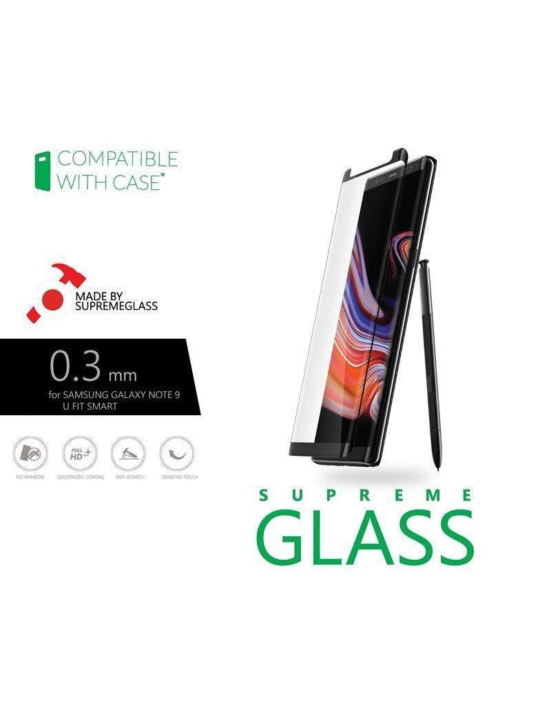 AMAZINGthing AT SAMSUNG NOTE 9 U FIT SMART 0.3MM SUPREME GLASS (BLACK)