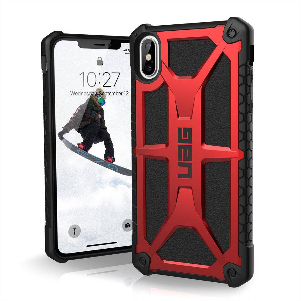 reputable site 5b925 653be UAG UAG Monarch Series Case For iPhone X - Carbon Fiber