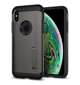 Spigen Spigen Slim Armor Case for iPhone XS Max - Gunmetal