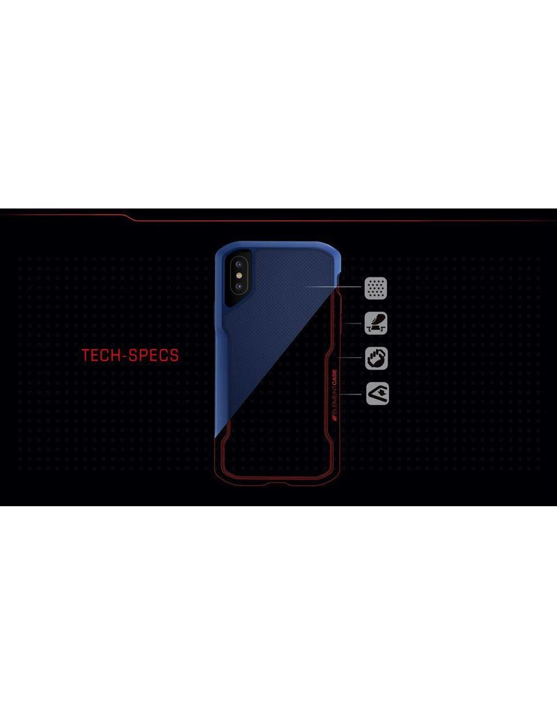 Element Element Shadow Drop Tested Case for iPhone Xs Max - Red