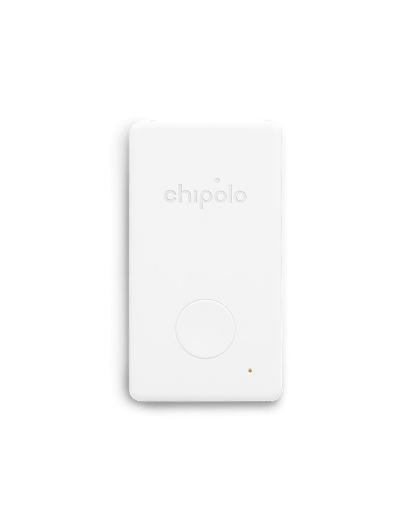 CHIPOLO CHIPOLO Card Smart Wallet finds+Tracke - White