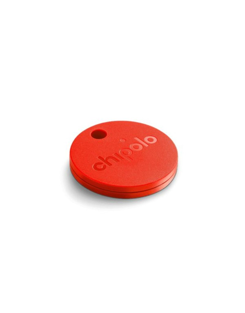 CHIPOLO CHIPOLO Plus Smart Keyring Finds+Tracker - Coral Red