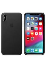 Apple Apple iPhone Xs Max Leather Case - Black