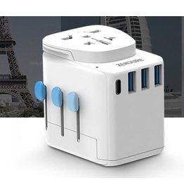 Zendure Zendure Passport Pro Global Universal Wall Charger Travel Adapter - White