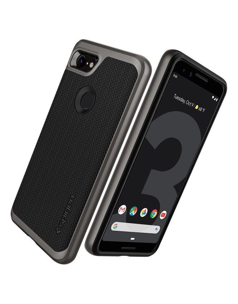 Spigen Spigen Neo Hybrid Case for Google Pixel 3 - Gunmetal