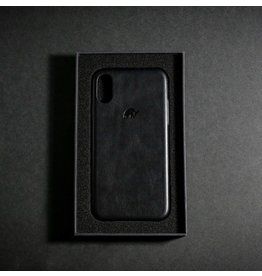 Bull Strap Bull Strap Genuine Bold Leather Case for iPhone Xs Max - Nero