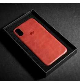 Bull Strap Bull Strap Genuine Bold Leather Case for iPhone X/Xs - Rosso