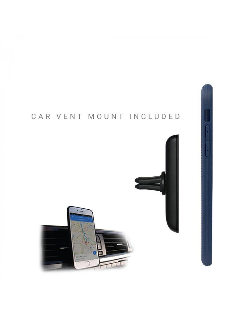 Evutec Evutec Ballistic Nylon With Afix Case for iPhone Xr - Blue
