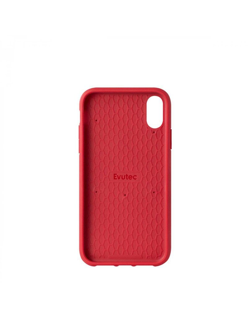 Evutec Evutec Ballistic Nylon With Afix Case for iPhone Xr - Red