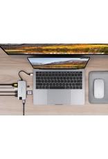 Hyper Hyper Drive++ Slim 8-in-1 USB-C Hub - Sliver
