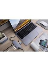 Hyper Hyper Drive++ Slim 8-in-1 USB-C Hub - Space Gray