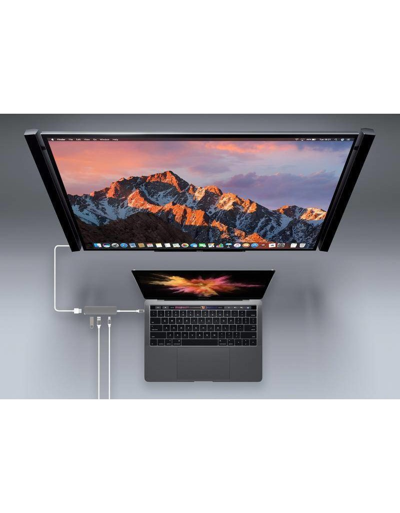 Hyper Hyper Drive++ 4-in-1 USB-C Hub With 4K HDMI Support - Gold