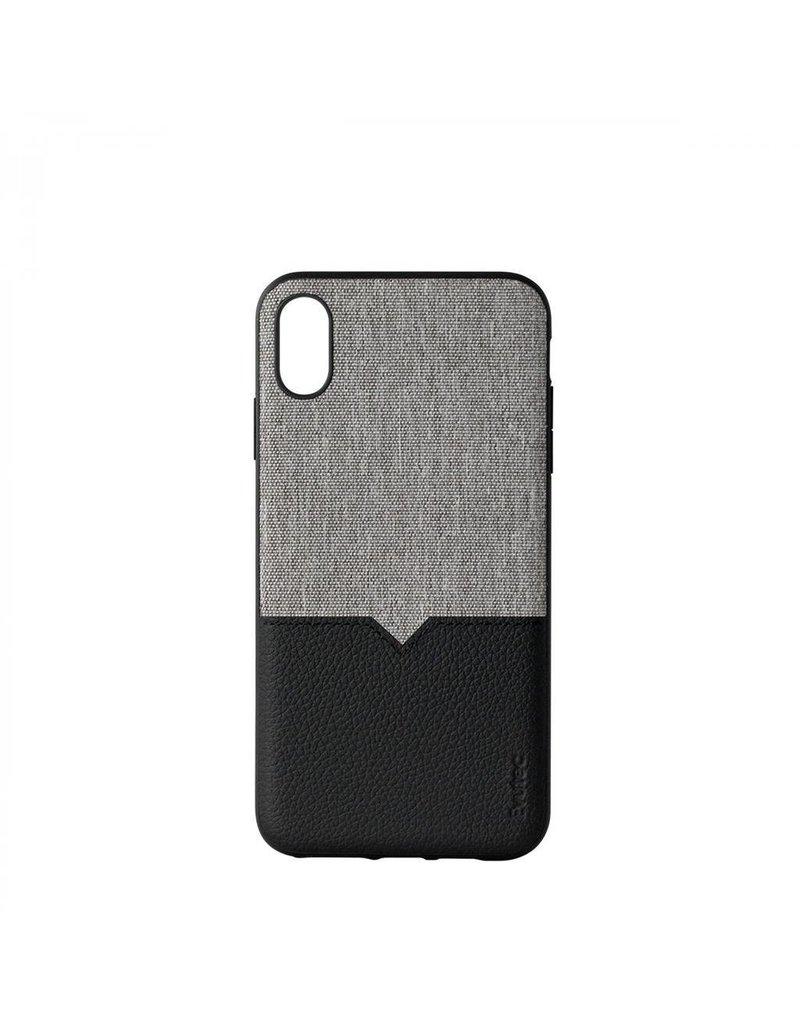 Evutec Evutec Northill Series With Afix Case for iPhone Xs Max - Canvas/Black