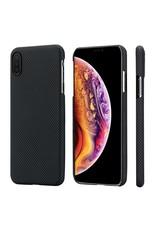 Pitaka Pitaka Aramid MagCase for iPhone Xs Max - Black/Grey Plain