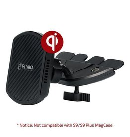 Pitaka Pitaka Magnetic Mount Qi Pro Wirelessly Charges - CD Slot