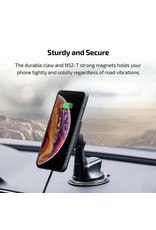 Pitaka Pitaka Magnetic Mount Qi Pro Wirelessly Charges - Suction Cup