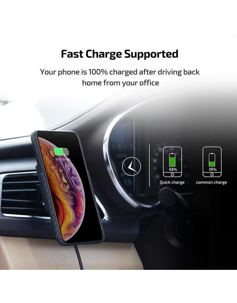 Pitaka Pitaka Magnetic Mount Qi Pro Wirelessly Charges - Car Vent