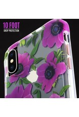 Case Mate Case Mate Wallpaper Case for Apple iPhone Xs Max - Pink Poppy