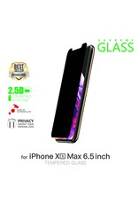 AMAZINGthing AT IPHONE Xs Max 6.5'' 0.33MM 2.5D PRIVACY SUPREME GLASS (BLACK)