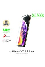 """AMAZINGthing AT IPHONE XS 5.8"""" 0.3M 3D EX BULLET FULLY COVERED SUPREME GLASS (BLACK)"""