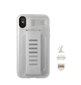 Grip2u Grip2u Boost Hand Grip with Kickstand Case for iPhone Xs - Clear