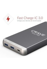 Crave Crave PLUS PRO 20'000mAh Portable Charger with PD + QC 3.0 + Type C