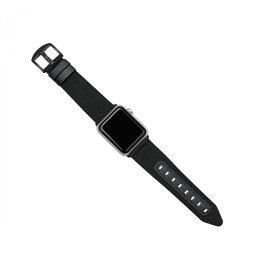 Evutec Evutec Northill Apple Watch Band 42/44mm - Black/Black