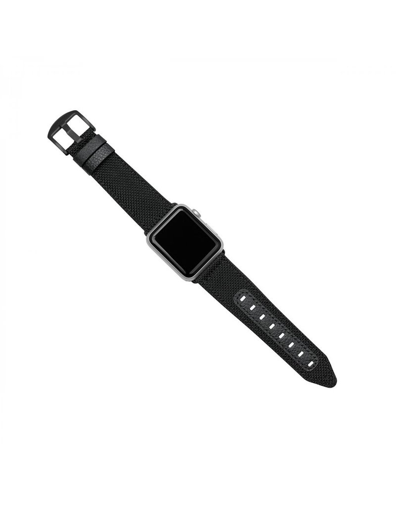 Evutec Evutec Northill Apple Watch Band 42/44mm - Black/Black