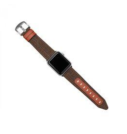 Evutec Evutec Northill Apple Watch Band 42/44mm - Brigandine/Lava