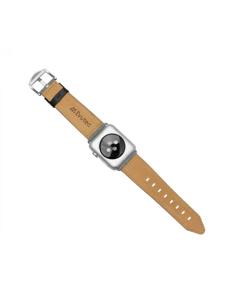 Evutec Evutec Northill Apple Watch Band 42/44mm - Canvas/Black