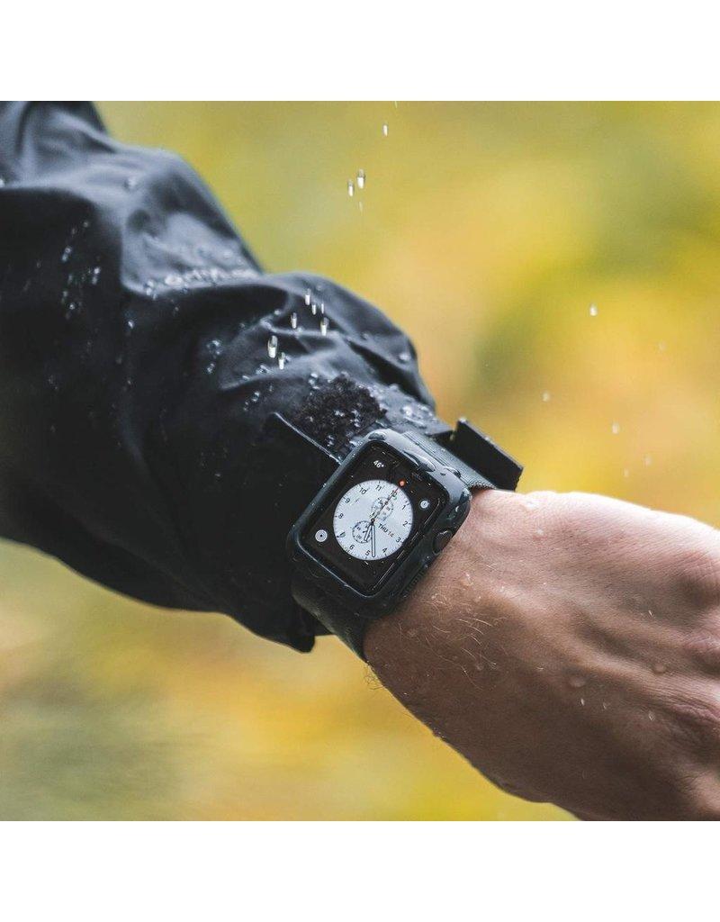 Lander Lander Moab Case With Nylon Armband for Apple Watch 44mm - Black