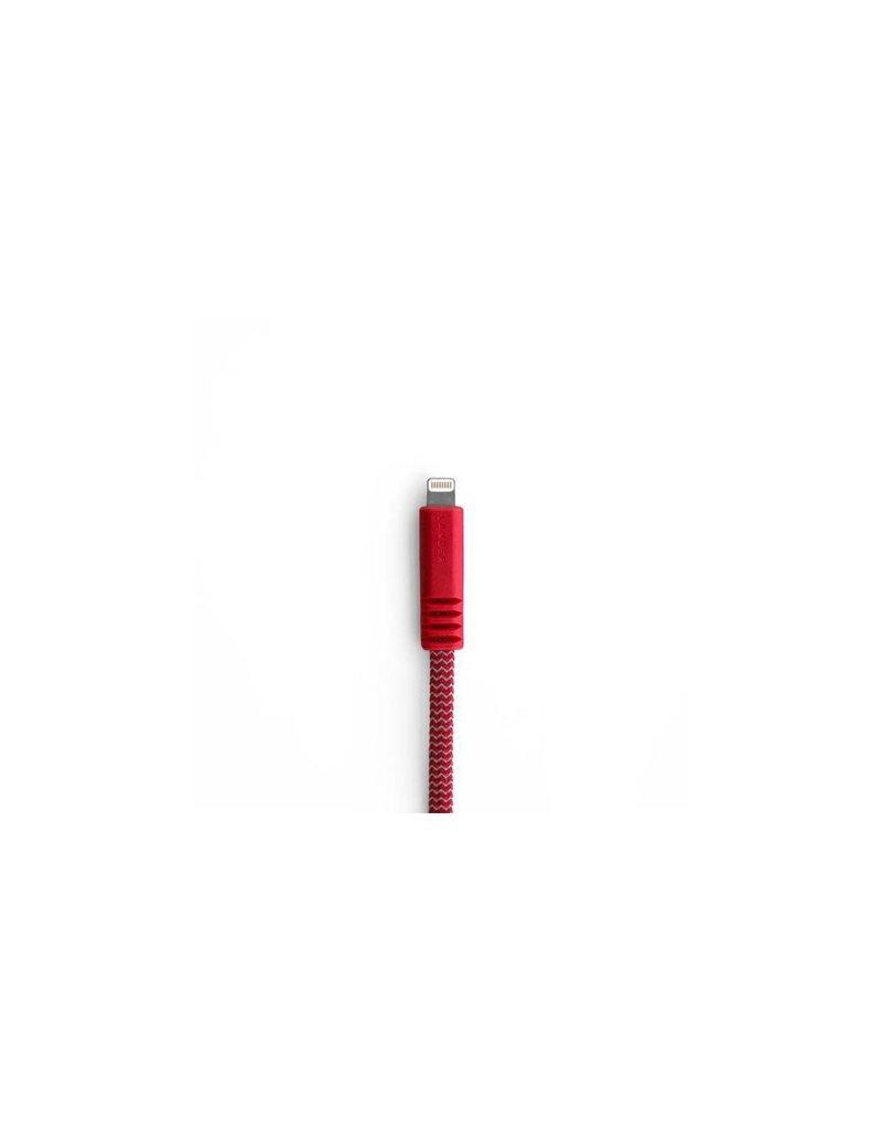 Lander Lander Nave USB To Lightning Cable 1m - Red