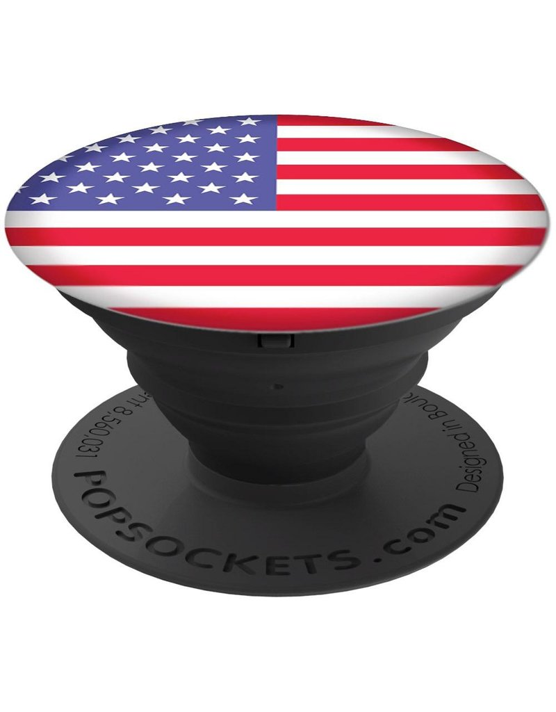 PopSockets PopSockets Device Stand and Grip - American Flag