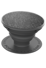 PopSockets PopSockets Device Stand and Grip - Saffiano Black