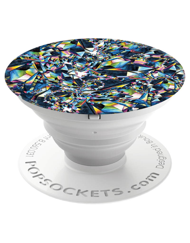 PopSockets PopSockets Gloss Device Stand and Grip - Facet
