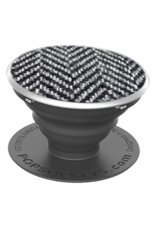 PopSockets PopSockets Device Stand and Grip - Herringbone Black