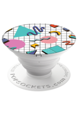 PopSockets PopSockets Pop Culture Device Stand and Grip - Memphis