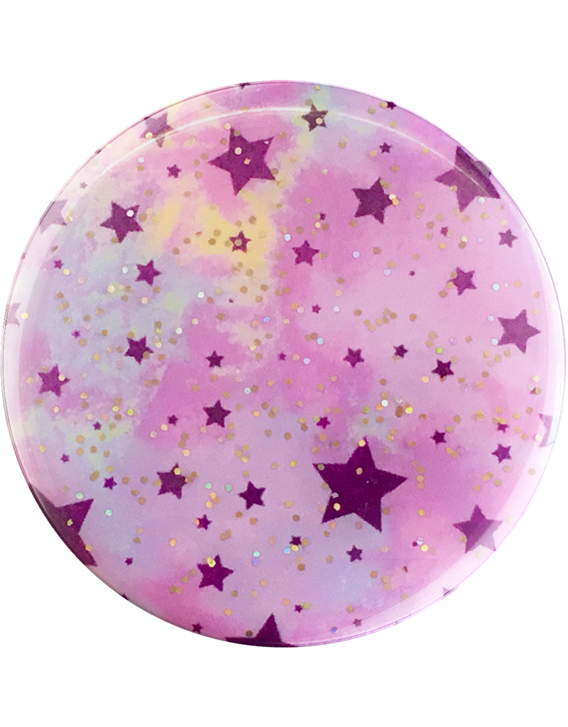 PopSockets PopSockets Device Stand and Grip - Glitter Starry Dreams Lavender