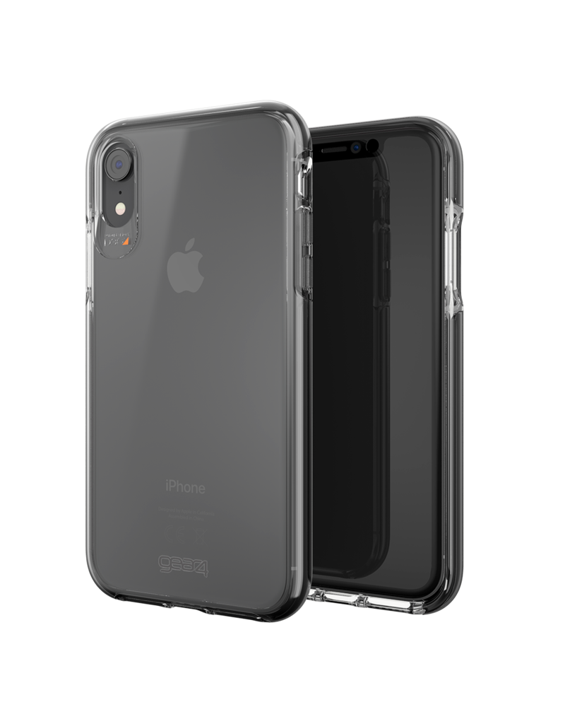 Gear4 Gear4 Piccadilly Case for Apple iPhone XR - Clear/Black