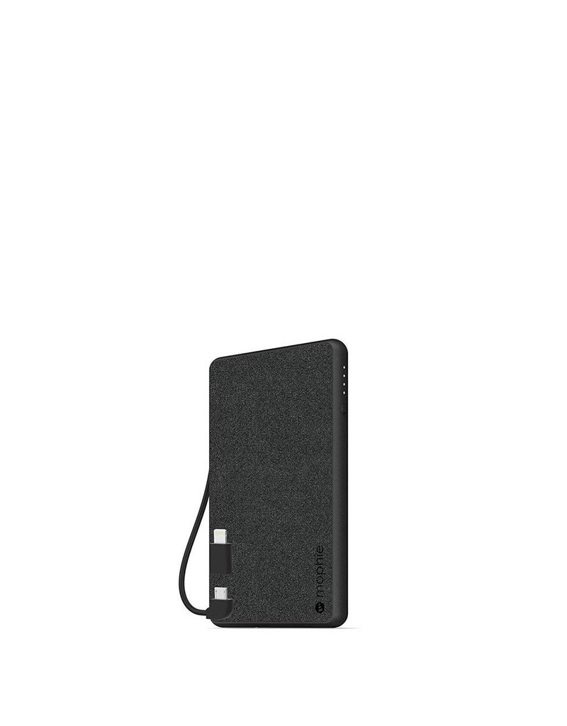 Mophie Mophie PowerStation Plus Mini Power Bank 4,000 mAh for Micro USB and Apple Lightning Devices - Black