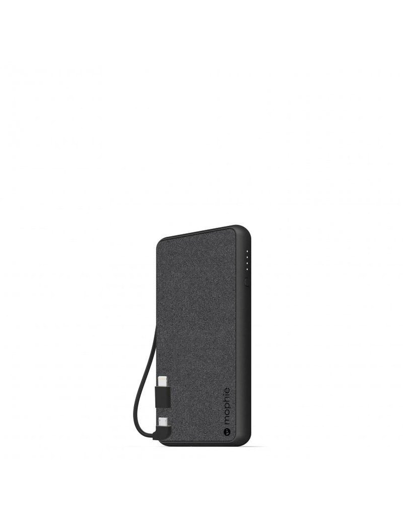 Mophie Mophie PowerStation Plus Power Bank 6,000 mAh for Micro USB and Apple Lightning Devices - BlacK