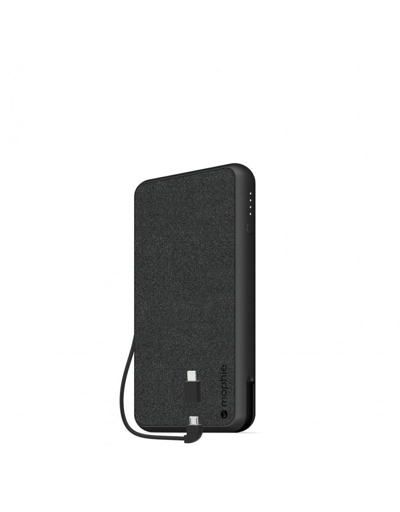 Mophie Mophie PowerStation Plus XL Power Bank 10,000 mAh for Micro USB and Apple Lightning Devices - Black