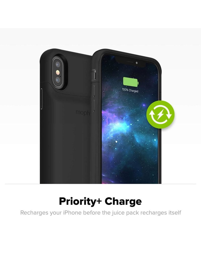 Mophie Mophie Juice Pack Access Power Bank Case 2,000 mAh for Apple iPhone Xs / X - Black
