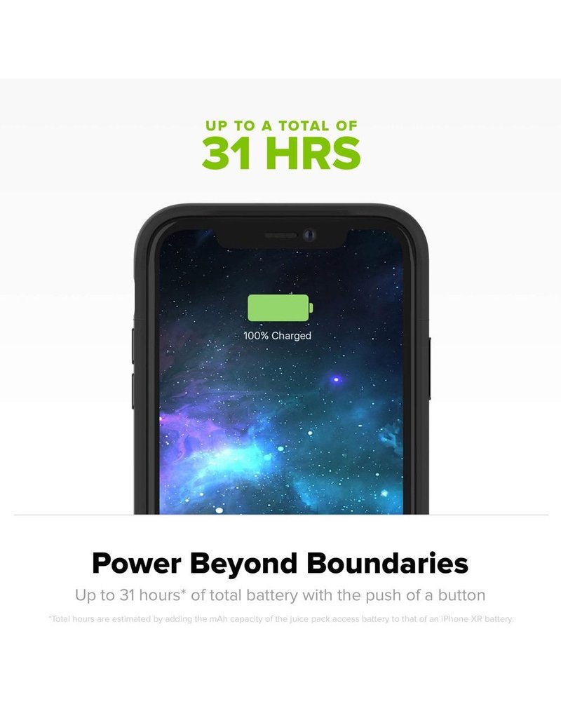 Mophie Mophie Juice Pack Access Power Bank Case 2,200 mAh for Apple iPhone Xs Max - Black