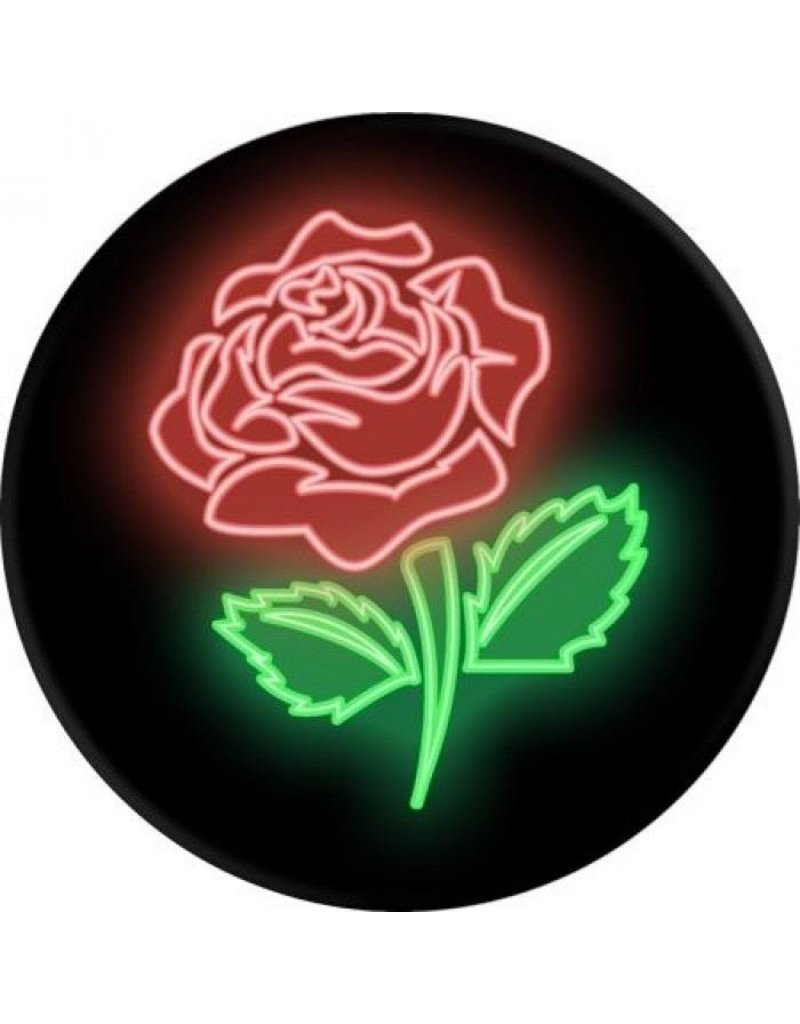 PopSockets PopSockets Device Stand and Grip - Neon Rose