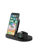 Belkin Belkin - Wireless Charging Dock for Apple Watch and Wireless Charging Capable Devices - Black